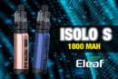 INFO BATCH : ISolo S 1800 mAh (Eleaf)