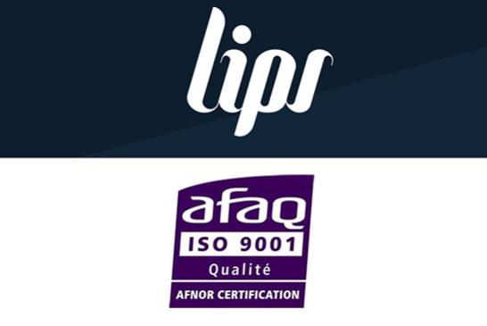 חברה: ליפס צרפת, שחקנית מרכזית עם תקן ISO 9001 ביד!