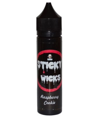 Sticky Wicks Raspberry Cookie 50ml shortfill e liquid