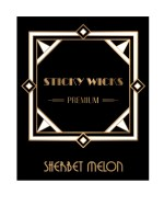 Sticky Wicks Sherbet Melon 50ml Short Fill E liquid