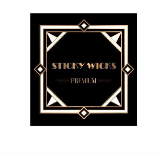 Sticky Wicks 50ml short fill e liquid