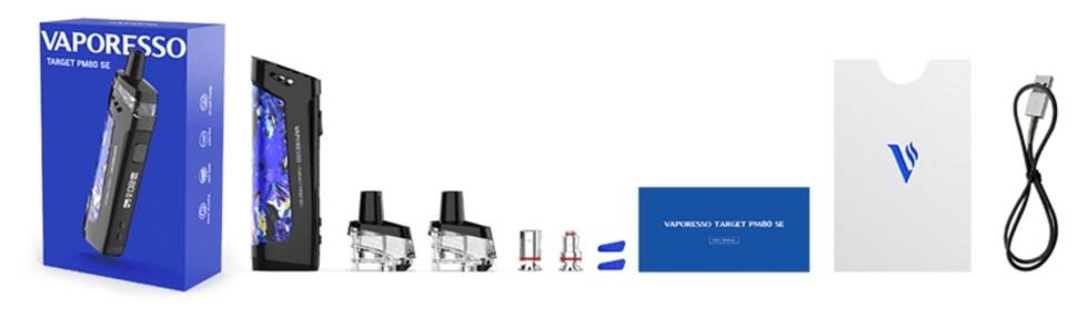 Vaporesso Target PM80 SE Contents