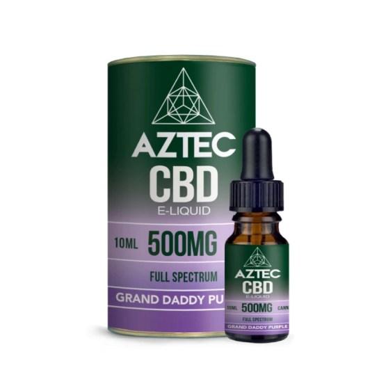 Aztec Grand Daddy Purple CBD Liquid