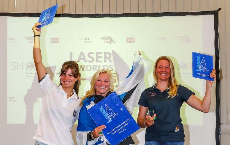 Laser Radial: Maité Carlier pakt brons op WK U21
