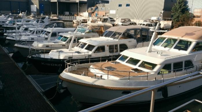 Linssen Yachts gebruikte botenshow op11 – 13 maart