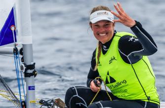 Evi Van Acker viert de zeilen na een succesvolle carrière