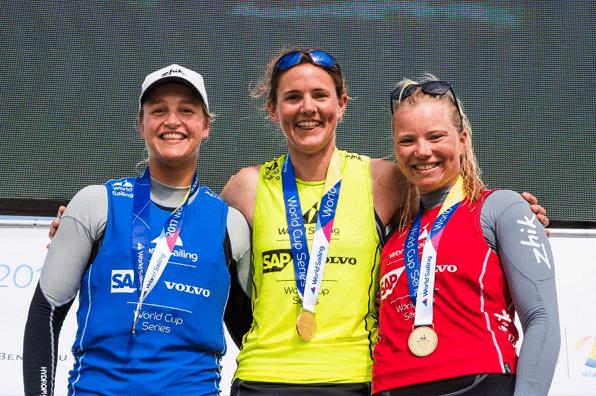 Emma Plasschaert wint zilver op de Sailing World Cup Miami