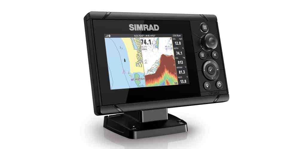 Simrad Cruise: de meest intuïtieve en gebruiksvriendelijke kaartplotter