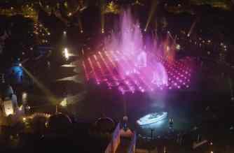 Princess R35 gepresenteerd tijdens fonteinshow in de Efteling