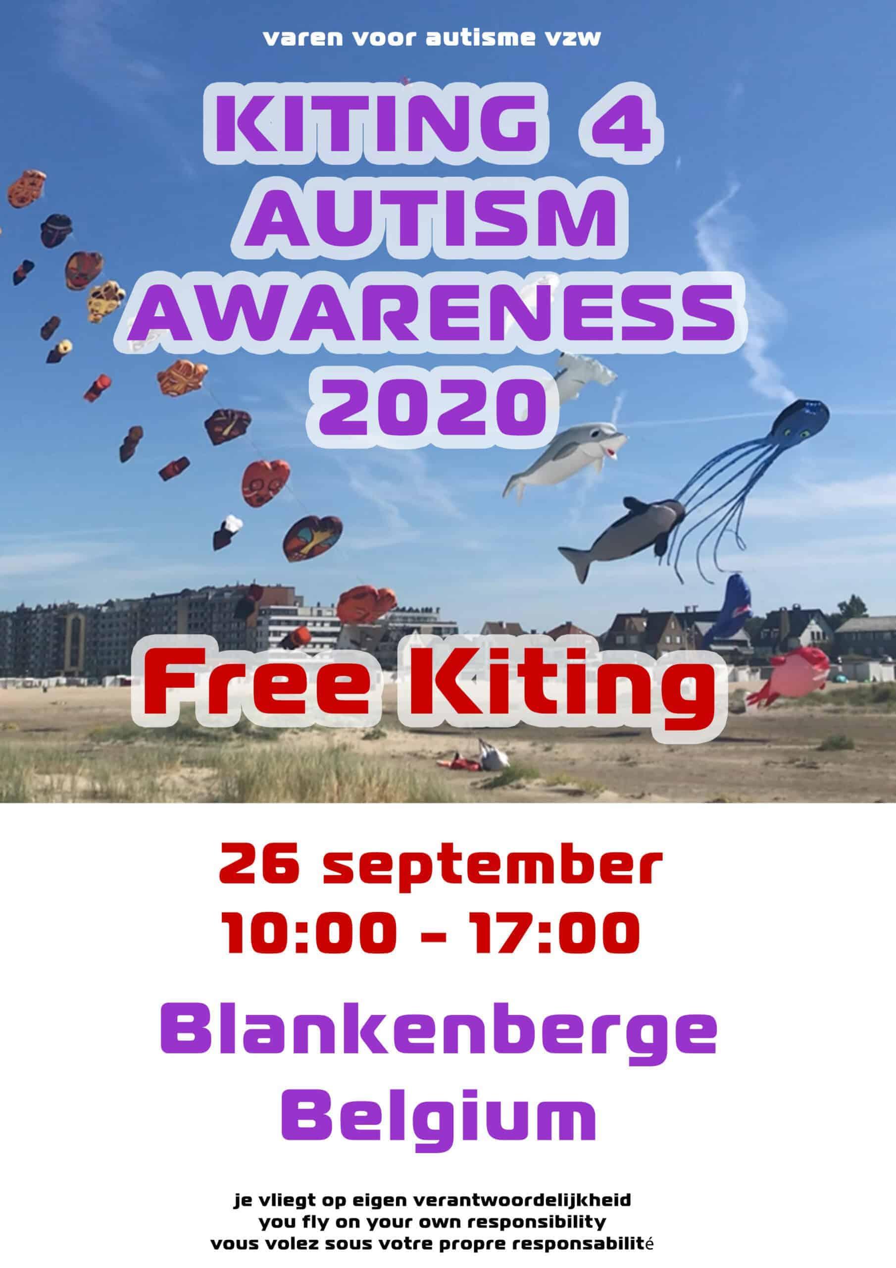 Kiting 4 Autisme Awareness