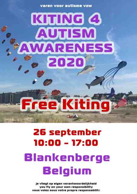 Kiting 4 Autisme Awareness