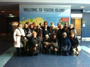 Gruppo di donne a New York