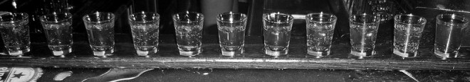 Shots og drinker kan være livsfarlig!