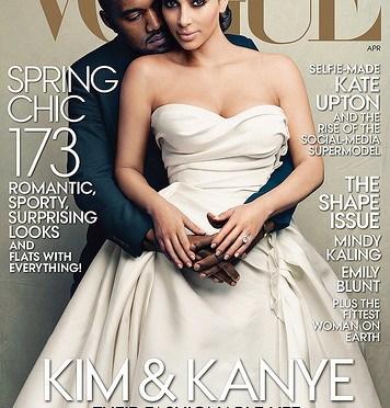 Kim Kardashian- Vogues frontfigur!