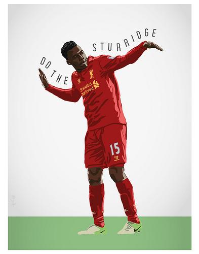 Daniel Sturridge Liverpool FC Print