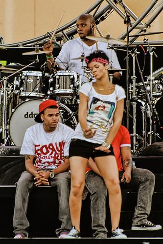 Rihanna with Chris Brown (Explored)
