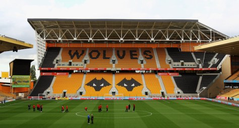 A general view of Molineux Stadium during the npower Championship match between Wolverhampton Wanderers and Barnsley at Molineux on August 21, 2012 in Wolverhampton, England.