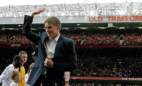 Waving goodbye: Ole Gunnar Solskjaer's first professional club want him as their manager