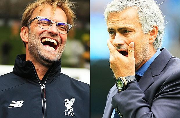 Liverpool eller Manchester United, med flest poeng?