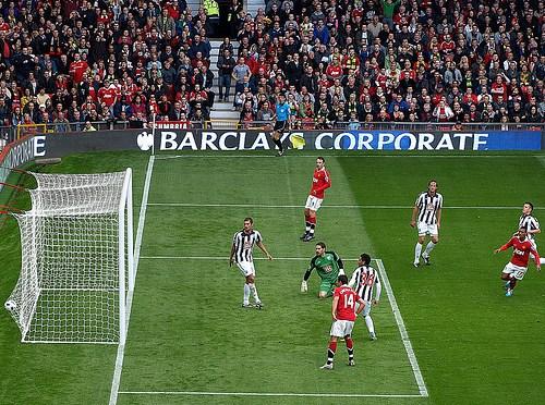 Manchester United -ny tilskuer blunder på Old Trafford