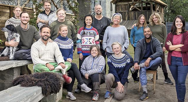 ANNO og byen er Trondheim – her er deltagerne!