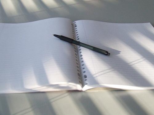 Forfatteren i deg, er utålmodig!