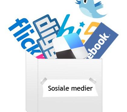 Sosiale medier gjør oss A- sosiale