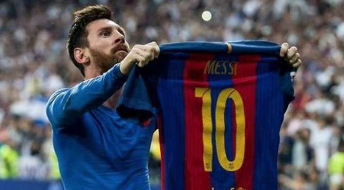 Messi skyter aldri over …