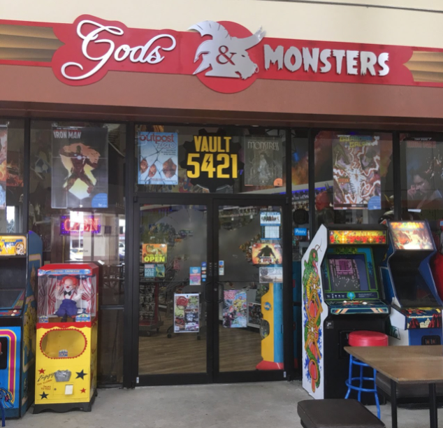 Gods and Monsters Store Front