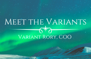 Test reads Meet the Variants Variants Rory COO