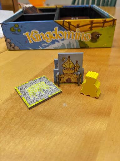 Kingdomino game pieces