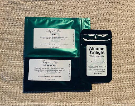 Sample size bags of tea
