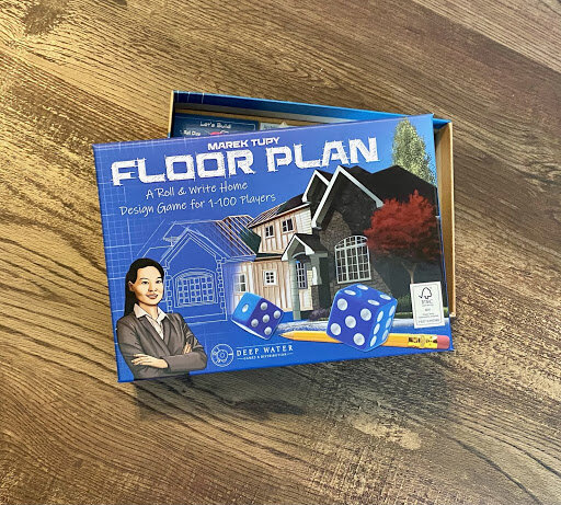 cover of the game Floor Plan by Deep Water Games