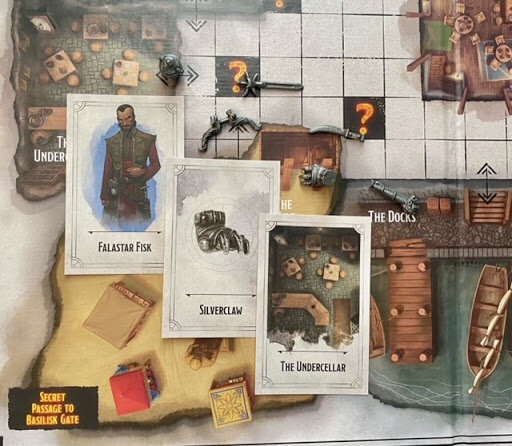 Pictured: Six Clue weapons on top of the game board.