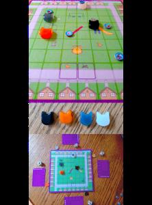 Game Board for Feline Felonies