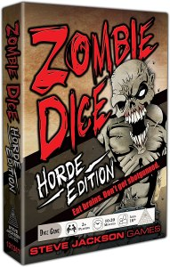 Zombie Dice Hoard Edition Box Art
