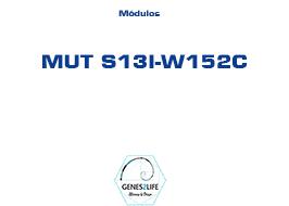 Modulo MUT S13I-W152C