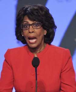Maxine Waters - Elitist looking out for herself - forget the 'little people'