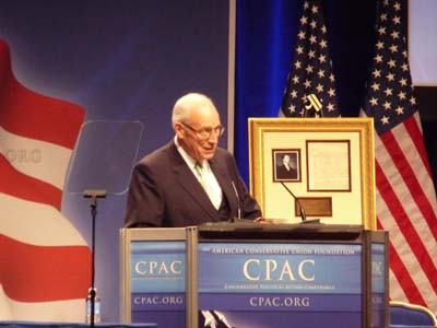 Dick Cheney Speaking to CPAC 2011