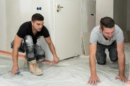 Dampdichte folie voor vloerverwarming