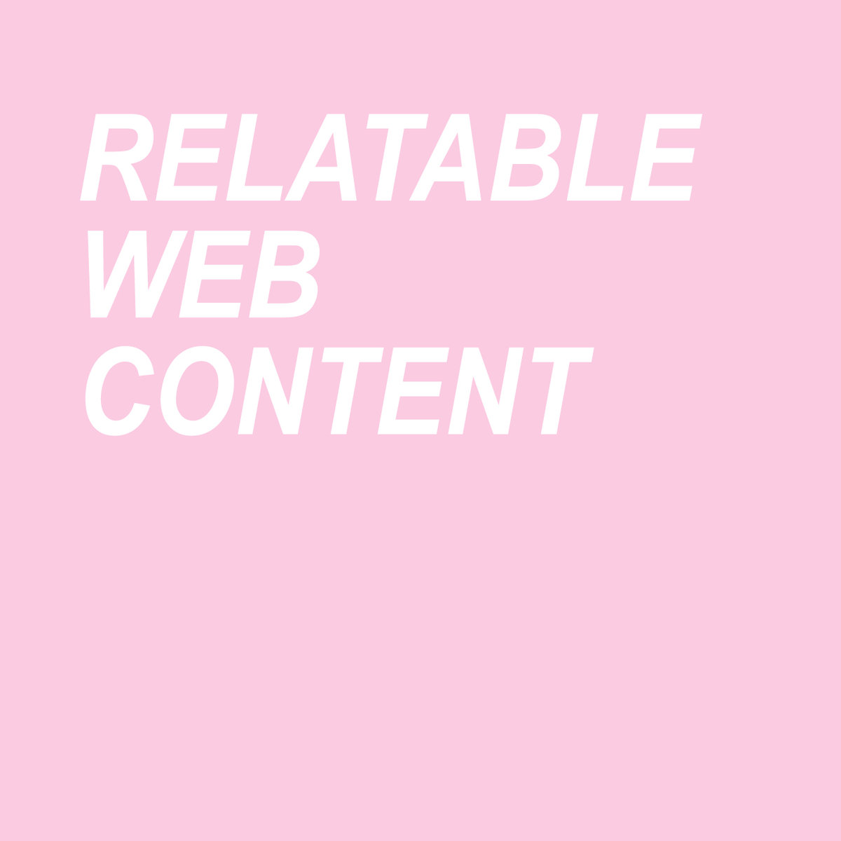 coping skills relatable web content album art