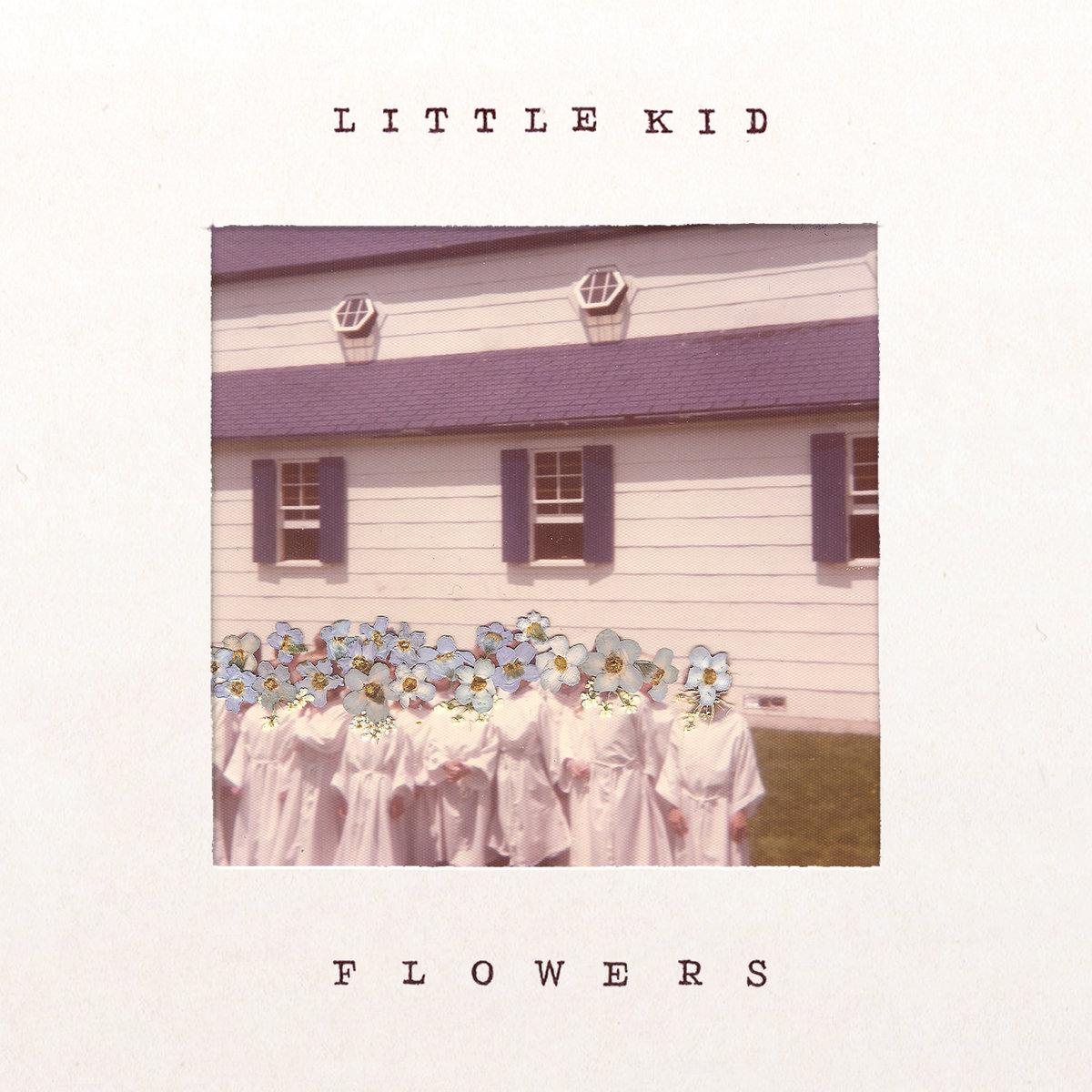 little kid flowers album art