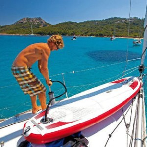 Φουσκωτά SUP stand up paddleboards