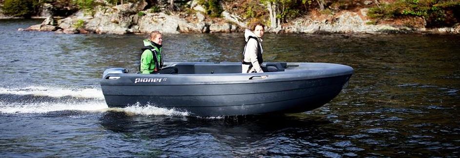 σκάφος πολυαιθυλενίου Pioner 12 maxi