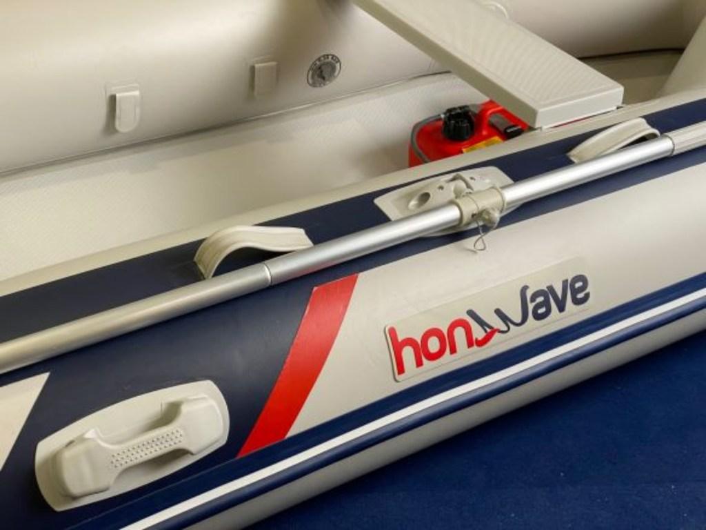 Συμβατικό φουσκωτό Honwave T27 με πάτωμα υψηλής πίεσης