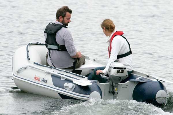 tender honwave T 27 τ Honda marine