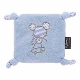 Fashy värmekudde Blue Mouse för barn och bebis - luktfri, allergenfri