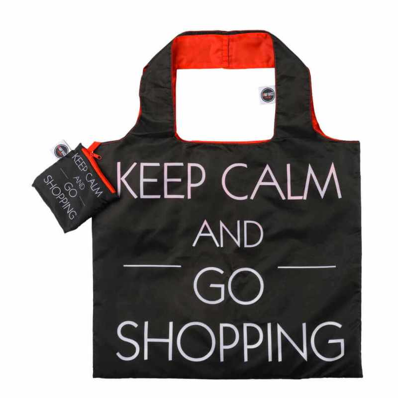 ANYBAGS shoppingkasse Keep Calm and Go Shopping