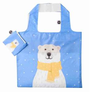 ANYBAGS shoppingkasse Polar Bear