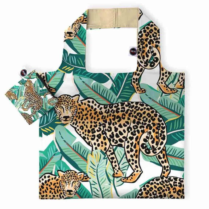 ANYBAGS shoppingkasse Leopard